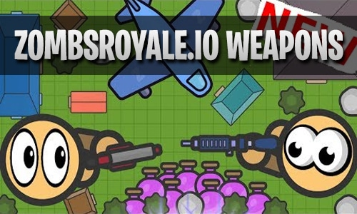 zombsroyale.io weapons