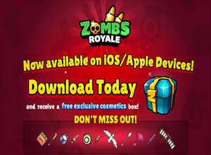 Photo of ZombsRoyale.io for iOS App Store