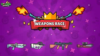 zombsroyale.io all weapons