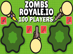 Basic Gameplay Of ZombsRoyaleio