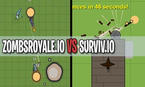zombsroyale.io vs surviv.io
